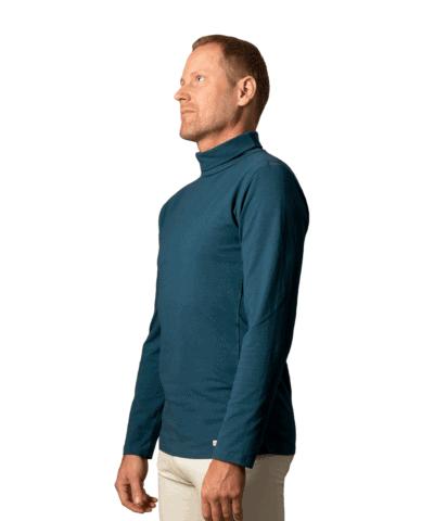 Organic-cotton-high-neck-sweater-garadan-moroccon-blue-1