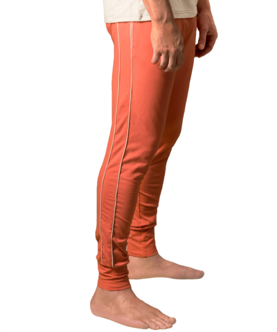 Organic-cotton-retro-pants-doguna-coral-red