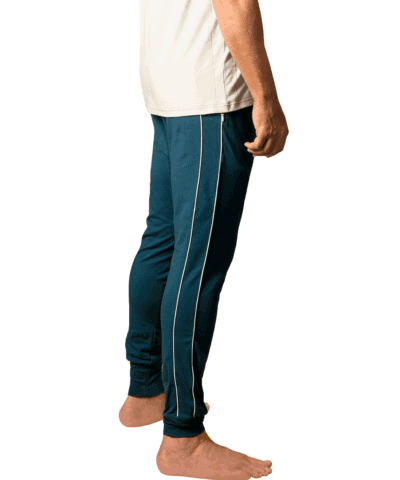 Organic-cotton-retro-pants-doguna-moroccon-blue-1-2
