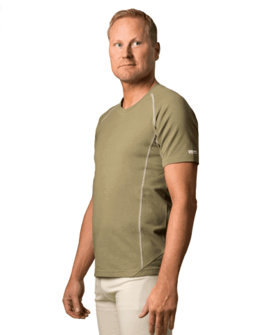 Organic-cottont‑shirt-Manacala –olive-green-1-1