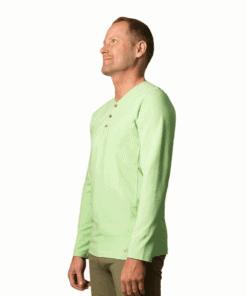 organic-cotton-long-sleeve t-shirt-batan-arcadian-green-1-1