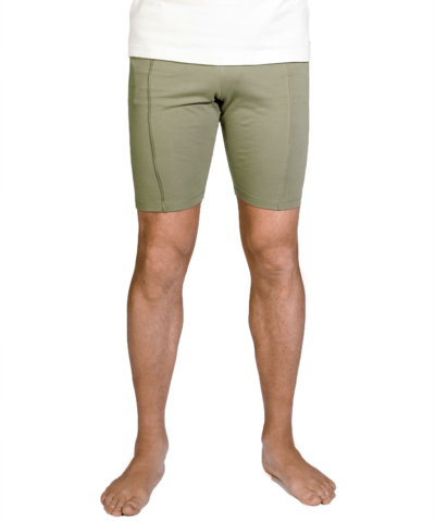 b-light-organic-cotton shorts, Jyada – Olive green
