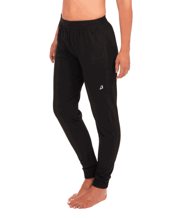 533b28a125 Organic yoga pants, lose fit, Sinbad - Black - B-LIGHT