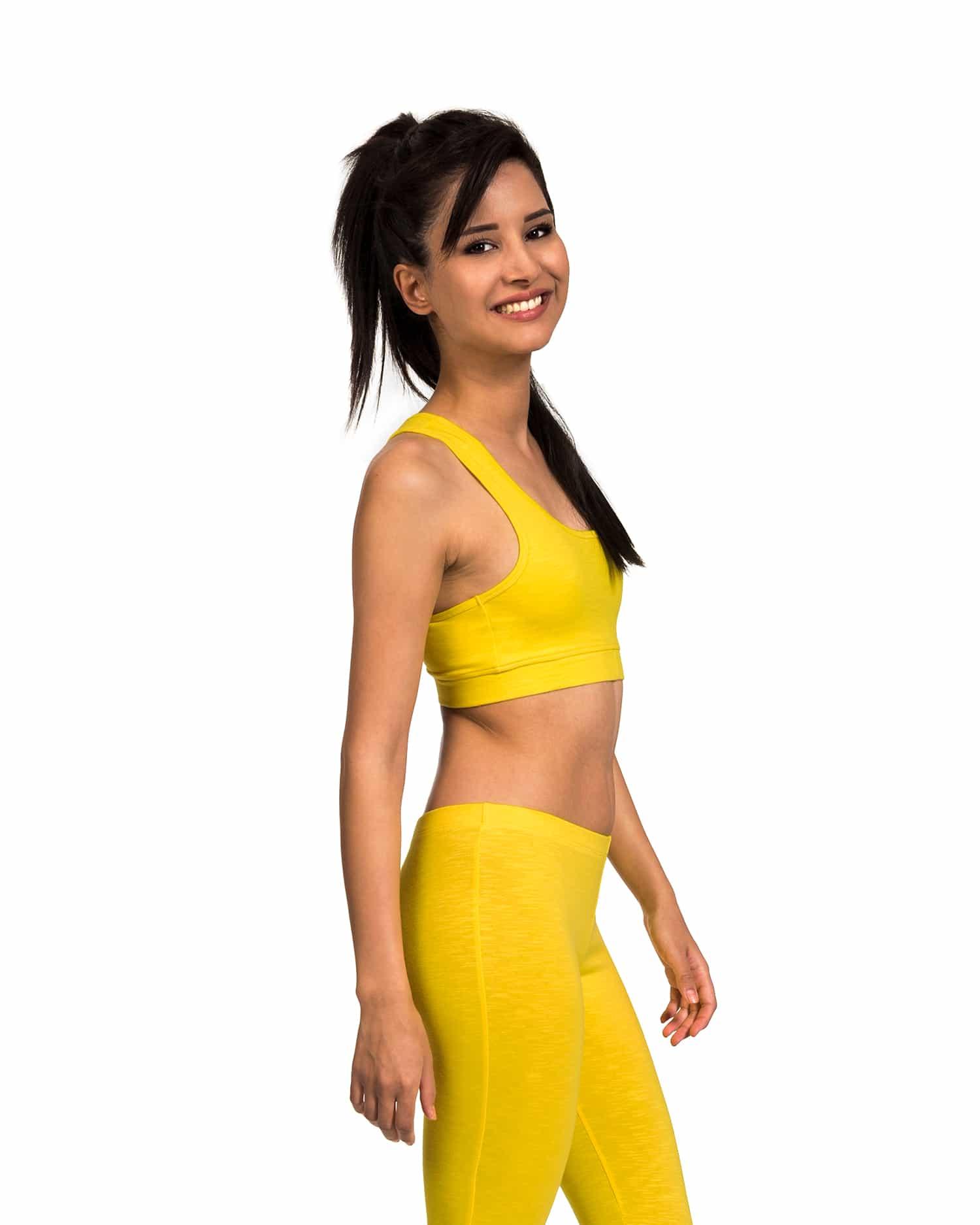 b-light-organic-cotton-leggings-sports-bra-saral-adha-yellow-1